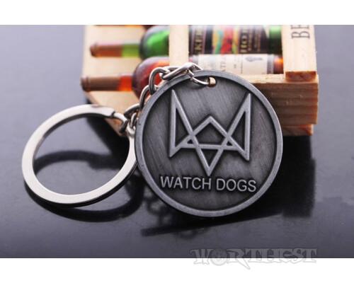 Брелок Watch Dogs Ubisoft металл игры!