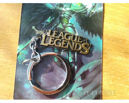 Брелок League of Legends игры Лига Легенд Дота2 Valve фильм стальной