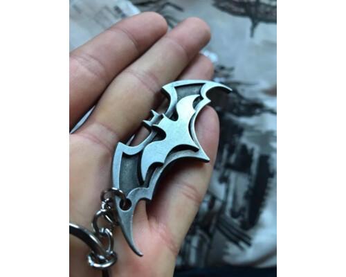"""Брелок значок бэтмен """"Batman"""" Стальной подарок!"""