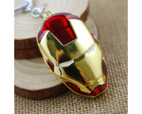 Брелок Железный человек Iron Man стальной Тони Старк подарок!