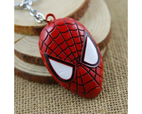Брелок Spider Man спайдермен человек паук металлический!