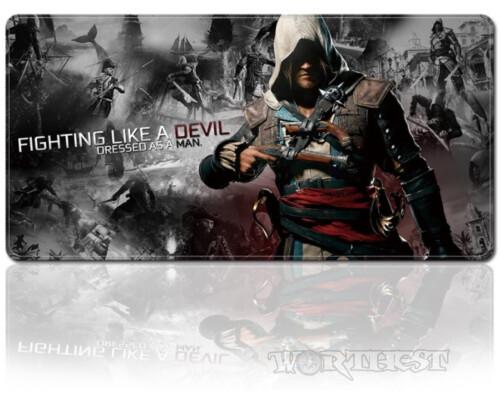 Игровой коврик для мыши Assassin's Creed 80х30см Кредо Ассасина