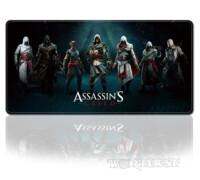 [Assasin's Creed] Большой Коврик для мыши Overlock Ассасин 80х30см!