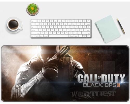 Игровой коврик для мыши Call of Duty Black Ops 2 Зов Долга 80х30см мышки!
