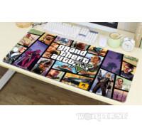 Игровой коврик для мыши GTA 5 мышки 80х30см Grand Theft Auto V Гта!
