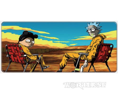 "Коврик для Мыши ""Rick and Morty"" Breaking bad 80x30 мышки Рик и Морти!"