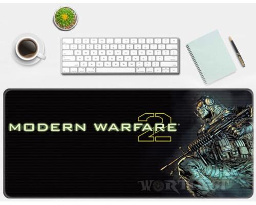 Игровой коврик для мыши Call of Duty: Modern Warfare 2 80х30см мышки!