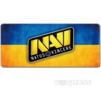 Большой коврик для мыши NAVI 80x30 на украинском флаге Dota 2 CSGO
