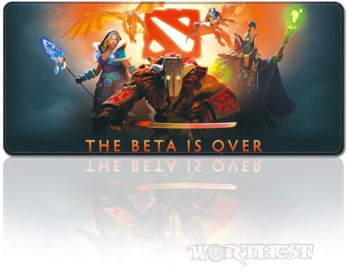 """Игровой коврик для мыши Dota2 """"Beta is Over"""" Дота 2 мышки Valve!"""