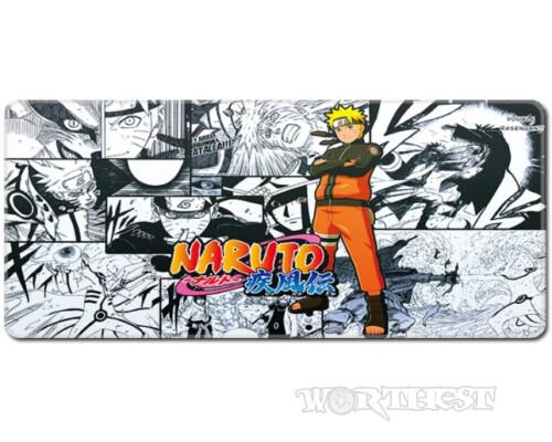 """[80x30см] Анимешный коврик для мыши """"Naruto моменты из манги"""" шов"""