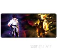"[80x30см] Аниме коврик для мыши ""Наруто VS Саске"" шов Naruto Anime"