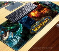 "Коврик для мыши World of Warcraft ""Герои Коллаж"" 80х30см мышки игры"