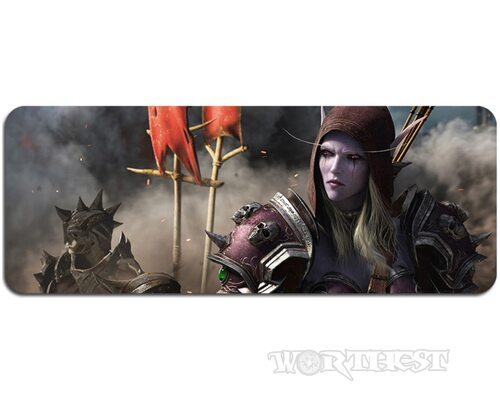 Коврик для мыши Sylvanas 80х30 World of Warcraft: Battle for Azeroth мышки