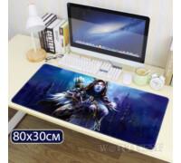 """Игровой коврик для мыши """"Сильвана"""" World of Warcraft 80х30см"""