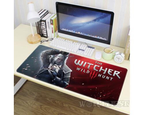 Игровой коврик Geralt - The Witcher 3: Wild Hunt для мыши Ведьмак мышки