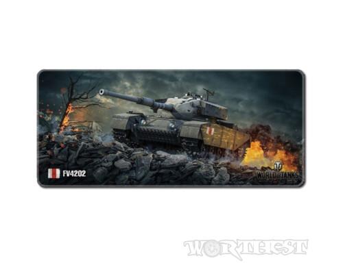 """Игровой коврик для мыши """"Британский танк fv4202"""" World of tanks 80x30"""