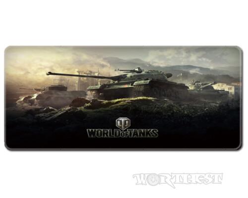 Коврик для мыши WoT 80x30 Совестские СРСР танки World of tanks мышки