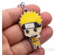 Аниме брелок Наруто из манги Naruto стальной Anime на ключи 316L!