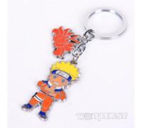 Брелок Наруто Удзумаки с печатью теневых клонов Naruto 2в1 с Курамой