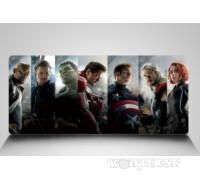 """Большой коврик для мыши MARVEL """"Героический Коллаж"""" Avengers фильм!"""