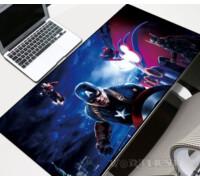 """Коврик для мыши """"Команда Мстителей"""" мышки Marvel шов супергерои"""