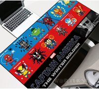 Большой коврик для мыши Marvel: Stan Lee Heroes! Стэн Ли комиксы!