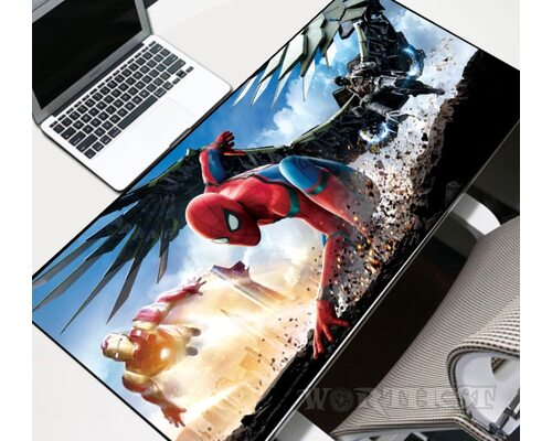 Большой коврик для мыши Marvel - Spiderman! Человек Паук Avengers!