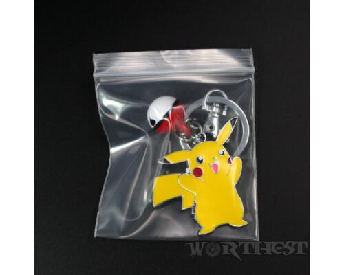 Брелок счастливый Pikachu(Пикачу́) покебол Покемон аниме(аниме) игры