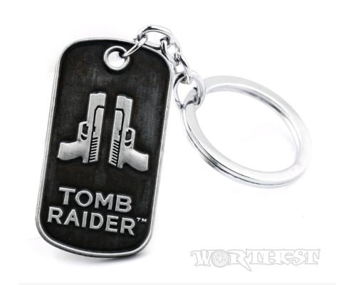 """Брелок """"Tomb Raider"""" Лара Крофт Юбилей 20 лет! игровой XBOX ONE PS4!"""