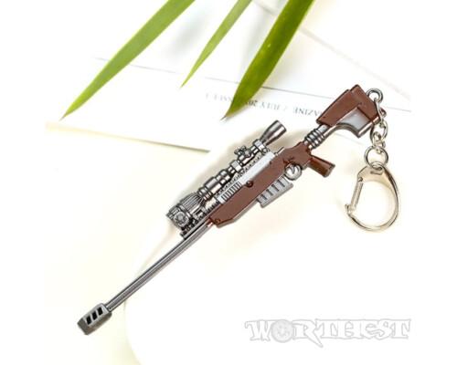 Брелок американская снайперская винтовка TAC-50 из игры PUBG(ПАБГ) 12см