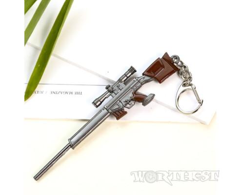Брелок немецкая снайперская винтовка PSG1 из игры PUBG(ПАБГ) 12см