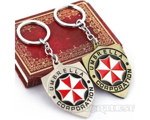 3D! Брелок «Корпорация Амбрелла» (Resident evil \ Обитель зла) подарок