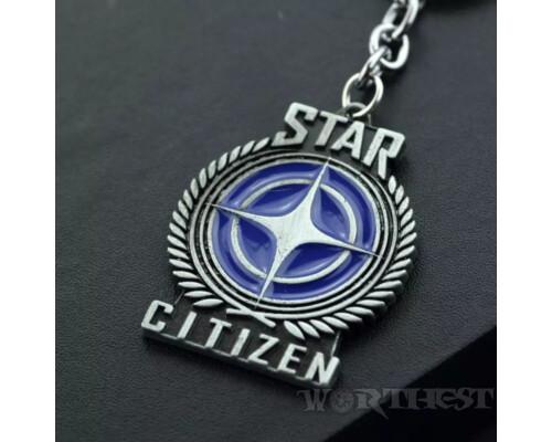 """Брелок """"Star Citizen"""" Звездный путь фильм Star Trek игры Star Wars!"""