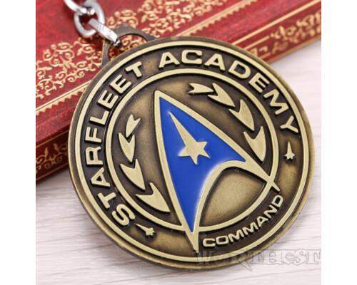 """Брелок Star Trek игры """"Fleet Command"""" фэнтези фильм Стар Трек подарок"""