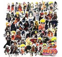 ПАК 63шт/Набор Наклейки NARUTO(Аниме Наруто) манга Аниме стикеры