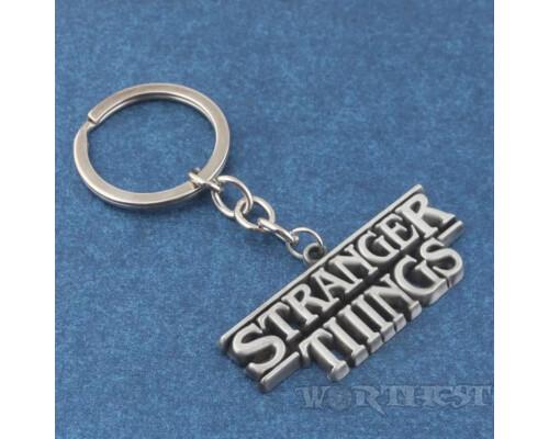 Брелок Stranger Things Лого фильм Очень Странные Дела Сериал Netflix!