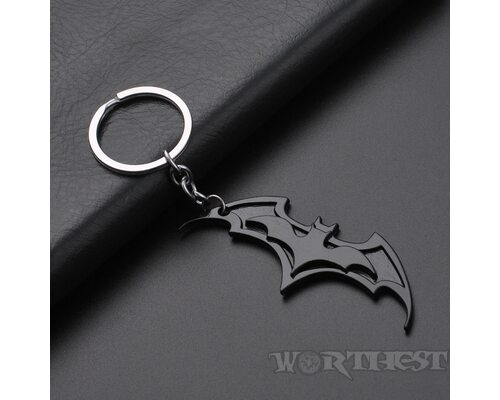 Оригинальный Брелок логотипа Летучей мыши (Бэтмена) Batman значок!