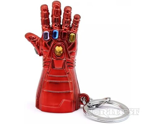 """Брелок Marvel """"Перчатка бесконечности Тони Старка"""" Iron Man Avengers!"""
