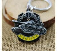 Брелок медаль Dumitru(Думитру) WoT стальной World of Tanks танки!