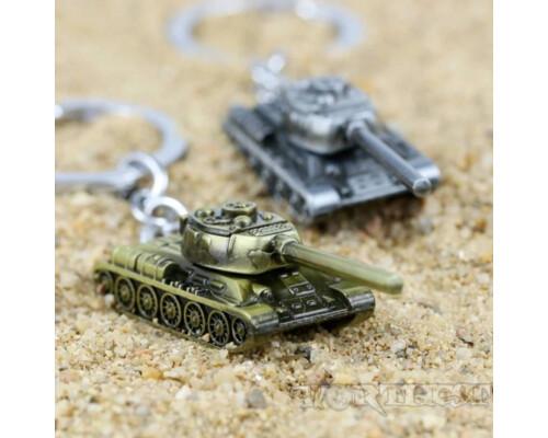 Стальной Брелок Танк Т-34-85 World of tanks WоT!