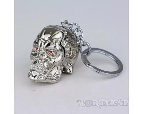 "Брелок ""Терминатор T-800"" Платина фильм Terminator!"