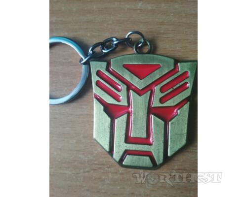 """Стальной Брелок Трансформеры """"Autobots"""" фильм Transformers!"""