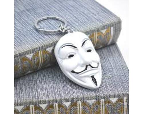 Брелок «V — значит вендетта» Anonymous фильм V for Vendetta игры!