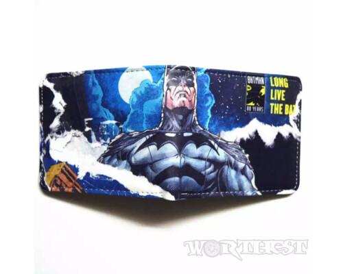 """Кошелек """"Batman 80 Лет"""" комиксы DC Comics Тёмный рыцарь Бэтмен портмоне"""