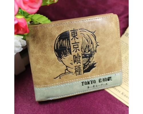 """Аниме кошелек """"Tokyo Ghoul"""" игры портмоне Токийский гуль екокожа!"""