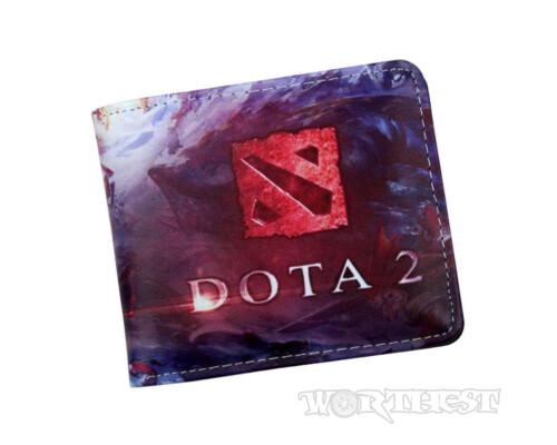 Кошелек по игре Дота 2 (Dota 2) c изображением игровых моментов