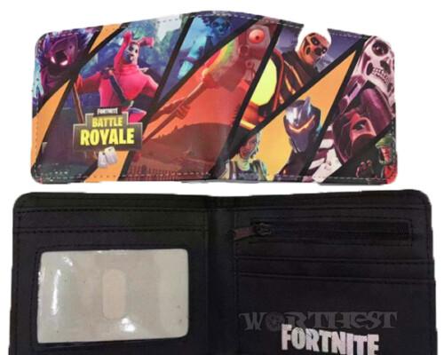 Кошелек Fortnite HEROES коллаж фортнайт Battle Royale игры Raven
