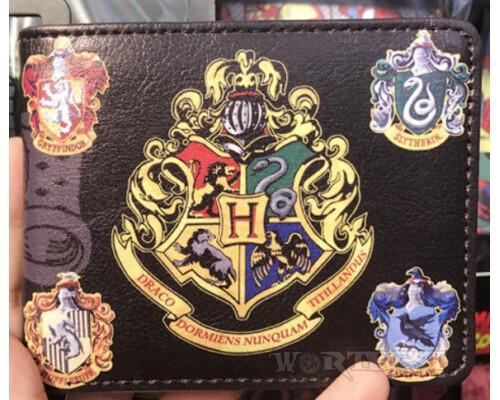 Кошелек 4 герба Хогвартса! Harry Potter Гарри Поттер магия фильм!