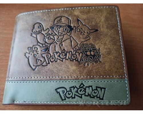 Кошелек Pokemon ''Pikachu'' Покемон Пикачу портмоне мультфильм