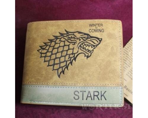 """Кошелек Старки """"Winter is Coming"""" Игра Престолов Game of thrones Stark!"""